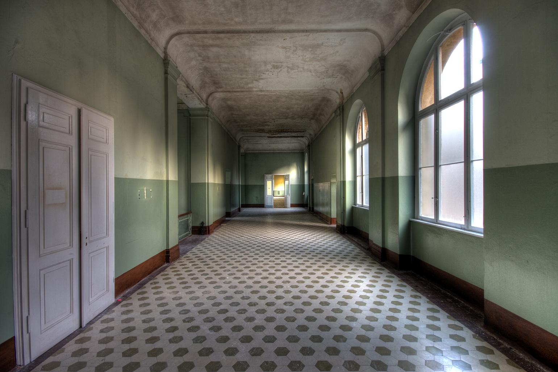 Wallpapers libres soft libre - Wallpaper corridor ...