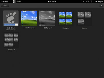GNOME 3 Boxes Install