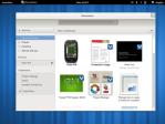 GNOME 3 Documents (Nótese la pérdida de espacio por el cuadro de búsqueda)