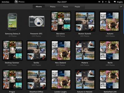 GNOME 3 Photo Album